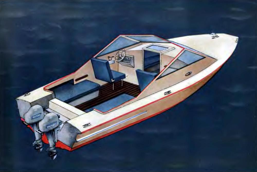 Катера и моторные лодки своими руками 14