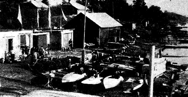 Водная база клуба «Балти»