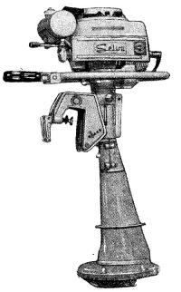 Водометный мотор «Сельва»