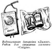 Водоналивная батарейка «Дымок»