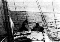 Выходим в море (пролив Бьерке-Зунд)