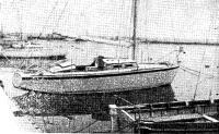Яхта Агат на плаву