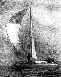 Яхта «Бриз де Мер» французского конструктора Жана Мари Фино