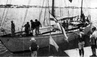 Яхта, финишировавшая первой— «Штормвогель»