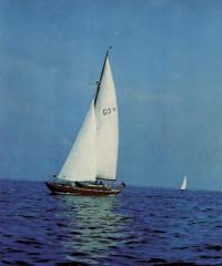 Яхта из ГДР «Столтера»