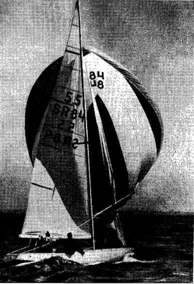 Яхта конструкции А. П. Киселева