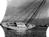 Яхта на мели