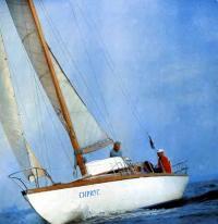 Яхта национального класса Л6 «Сириус»