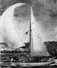 Яхта «Психея», по гандикапу оказавшаяся победительницей гонки