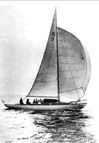 Яхта «Сириус» в море