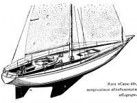 Яхта «Свон-44» выпускаемая объединением «Наутор»
