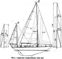Яхта типа иэл