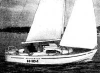 Яхта «Жемчужина» со сварным корпусом из легкого сплава