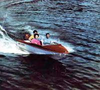 «Юг-2500» на ходу с тремя человеками