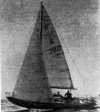 «Жираглия де Шелъд» — серийная пластмассовая яхта, занявшая 3 место