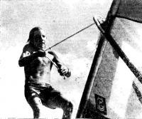 13-летний чемпион мира 1976 г. по виндсерфингу Робби Нэйш