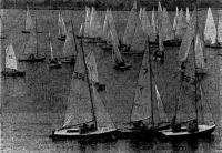 1971 г. На юношеском первенстве Москвы в Котовском заливе Клязьминского водохранилища