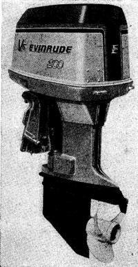 200-сильный мотор в «эвинрудовском» оформлении