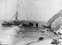 «Аквелон» у берега