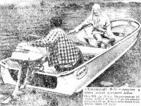 «Алюмакрафт Ф-7» простая и очень легкая клепаная лодка