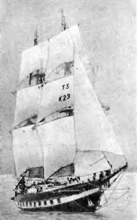 Английское учебное судно бриг «Роялист»