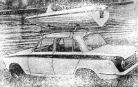 «Аполло» на крыше автомобиля