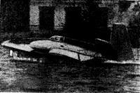 Аппарат «ПАИ-67» с подвесным мотором «Вихрь» выходит на расчетный режим