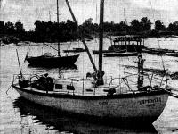Армоцементная яхта «Цементал» построенная в Киеве 13 лет назад