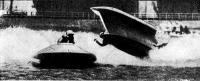 Авария катамарана французского гонщика Д. Жуссома