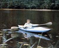 Байдарка «Ласточка-11» на спокойной воде