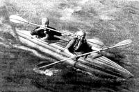 Байдарка «Ласточка» с двумя пассажирами