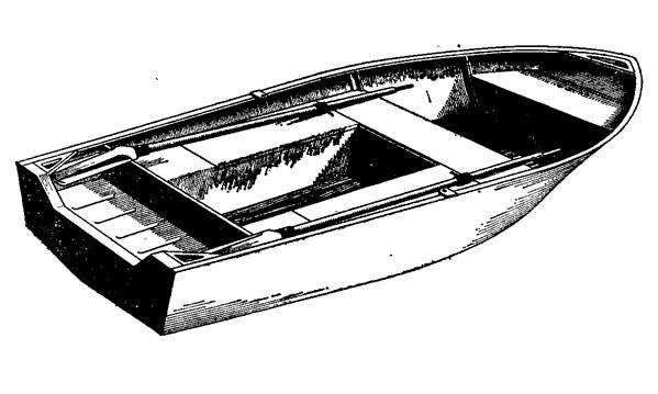Беспалубный вариант мотолодки «Серебрянка-3»