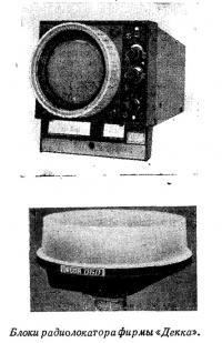 Блоки радиолокатора фирмы «Декка»