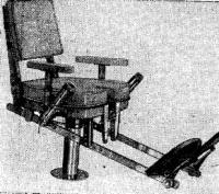 Боевое кресло для поединков с особо крупной рыбой