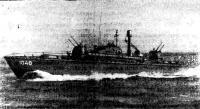 Большой торпедный катер послевоенной постройки