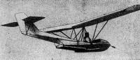 Буксируемый мотолодкой гидропланер «М.В.1» («Леонардо») конструкции В. Милити (1967 г.)