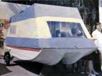 Быстроходная плавучая дача — моторная лодка «Дон»