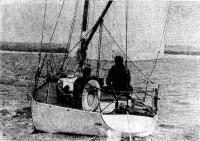 «Цементал-IV» яхта построенная из армоцемента с обводами однотонника «Тина»