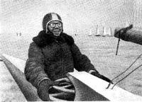 Чемпион СССР 1975 г. в классе буеров 12-метрового свободного класса Л. Виноградов