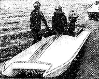 Чемпион СССР 1975 г. в серии гонок класса SC А. Жиров