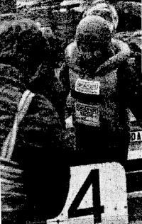 Чемпион СССР в классе ОВ м. с. м. К. И. Богданов