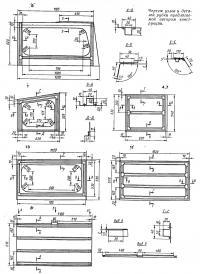 Чертеж узлов и деталей рубки