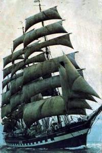 Четырехмачтовый барк «Крузенштерн»