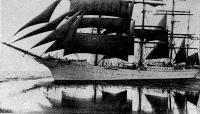 Четырехмачтовый барк «Седов»