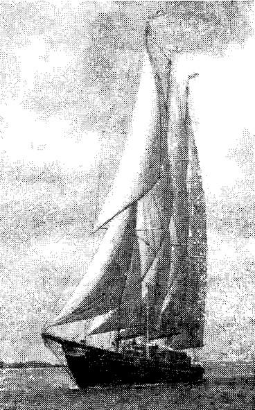 Датская шхуна «Креол», до недавнего времени служившая частной яхтой