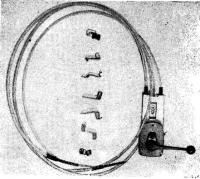 Детали механического дистанционного управления реверсом и газом