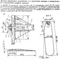Детали шверцевого устройства