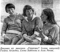 Девушки из минского Спартака
