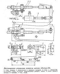 Дистанционное управление реверсом «Нептуна-23»