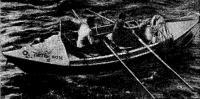 Дори «Инглиш Роуз-III» Д. Риджуэя и Ч. Блита, на которой они пересекли Атлантический океан